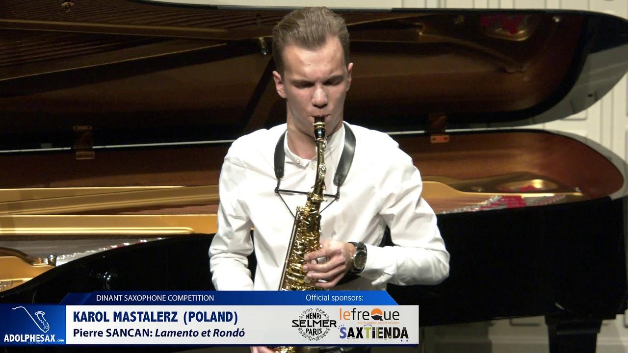 Karol Mastalerz (Poland) - Lamento et Rondo by Pierre Sancan (Dinant 2019)