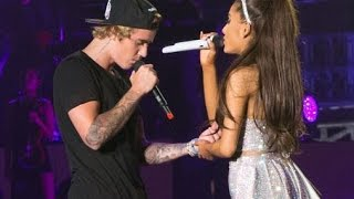 Justin Bieber & Ariana Grande As Long As You Love Me | Inglewood April 8th, 2015 | Honeymoon Tour