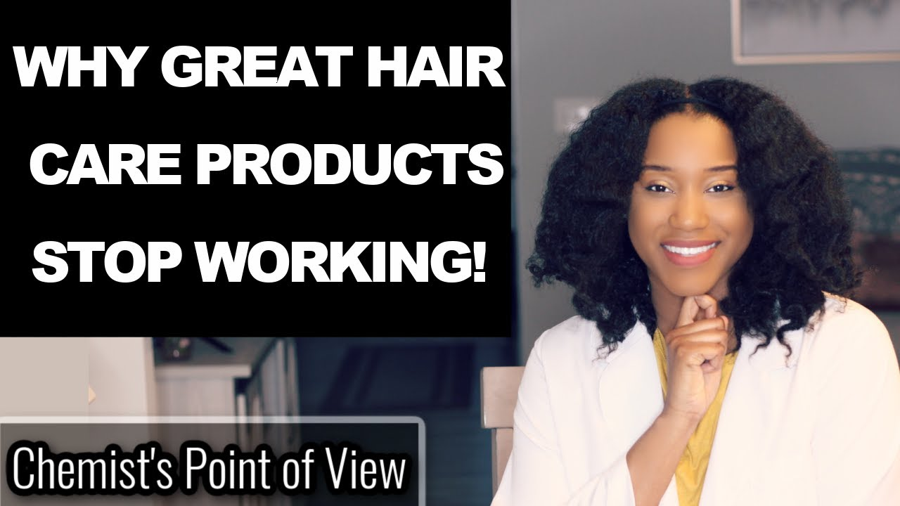 WHY GREAT HAIR CARE PRODUCTS STOP WORKING!