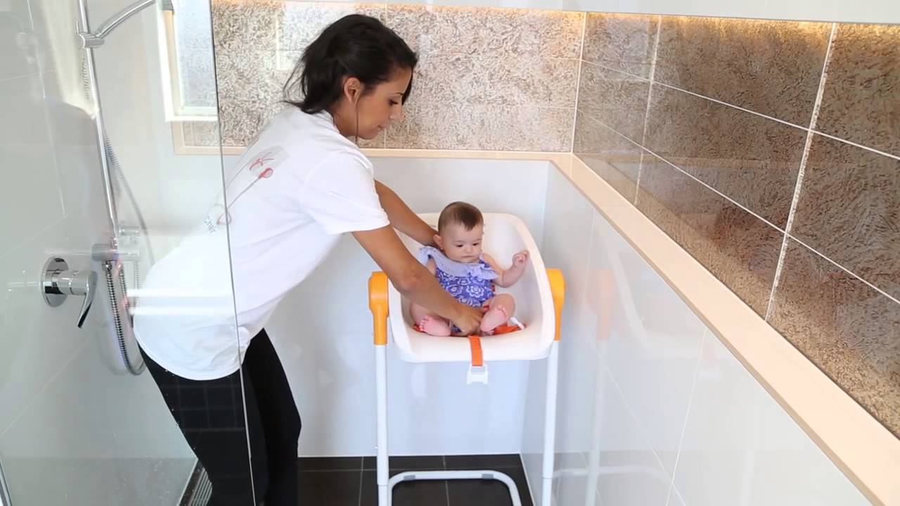 bath chair for baby power wheelchair bags charlichair the shower youtube