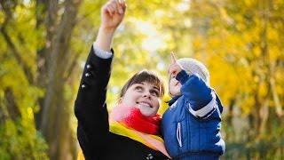 Мама, сынок и золотая осень! Осенняя семейная фотосессия. Family photo.(, 2015-11-13T13:19:56.000Z)