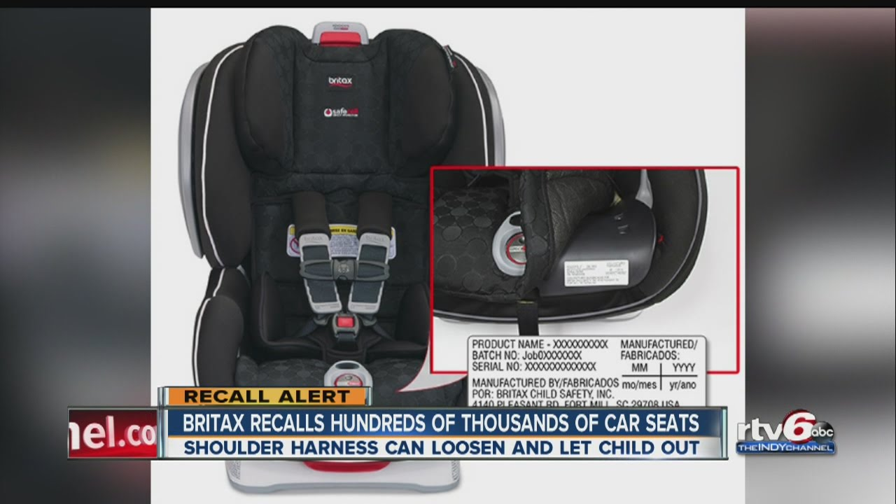 RECALL Britax Recalls ClickTight Child Car Seats For Safety Hazard