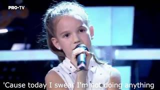 Gambar cover Bruno Mars - Lazy song lyrics (The Voice Kids Romania edition)