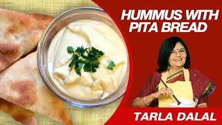 This Video Is Unavailable.     Lebanese Hummus With Pita Bread Recipe By Masterchef Tarla Dalal | Quick & Easy Recipes