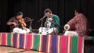 Vid.Vinay Sharva concert at Unnati Centre May 2013, Viriboni Varnam and Vallabhanayakasya