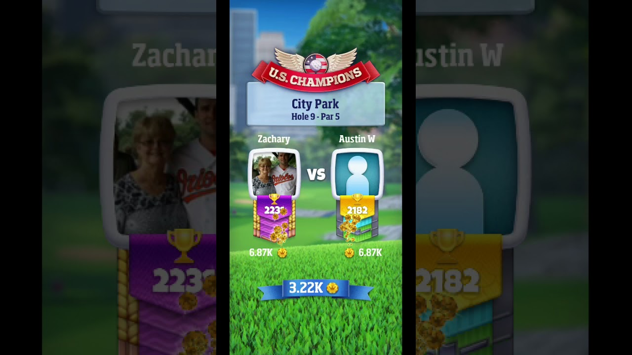 Golf Clash City Park Holes tips and strategies for success (from rookie  tees Tour 6)