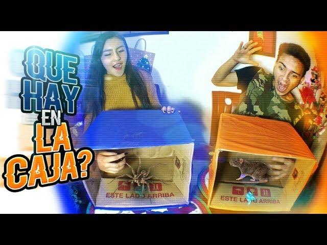 ¿QUÉ HAY EN LA CAJA? 😱 CHALLENGE  |  CON MI EX! ♥