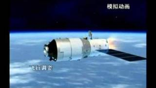 China launches the Tiangong-1 set to
