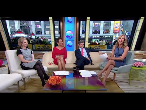 Amy Robach tights 6