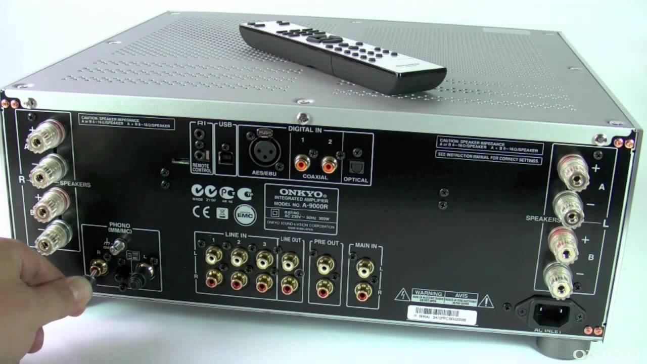 Onkyo A-9000R Silver