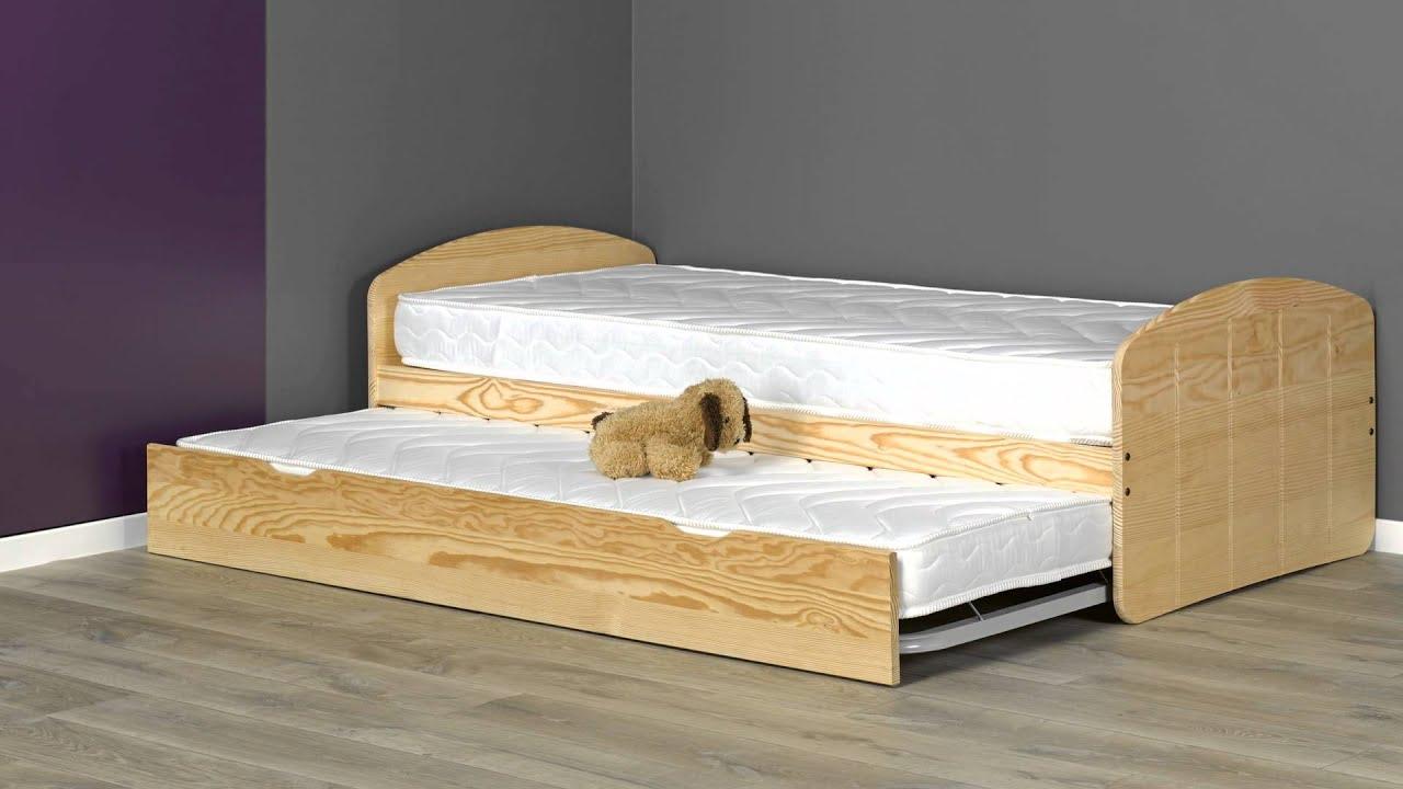 ausziehbett r ve 90x200cm youtube. Black Bedroom Furniture Sets. Home Design Ideas