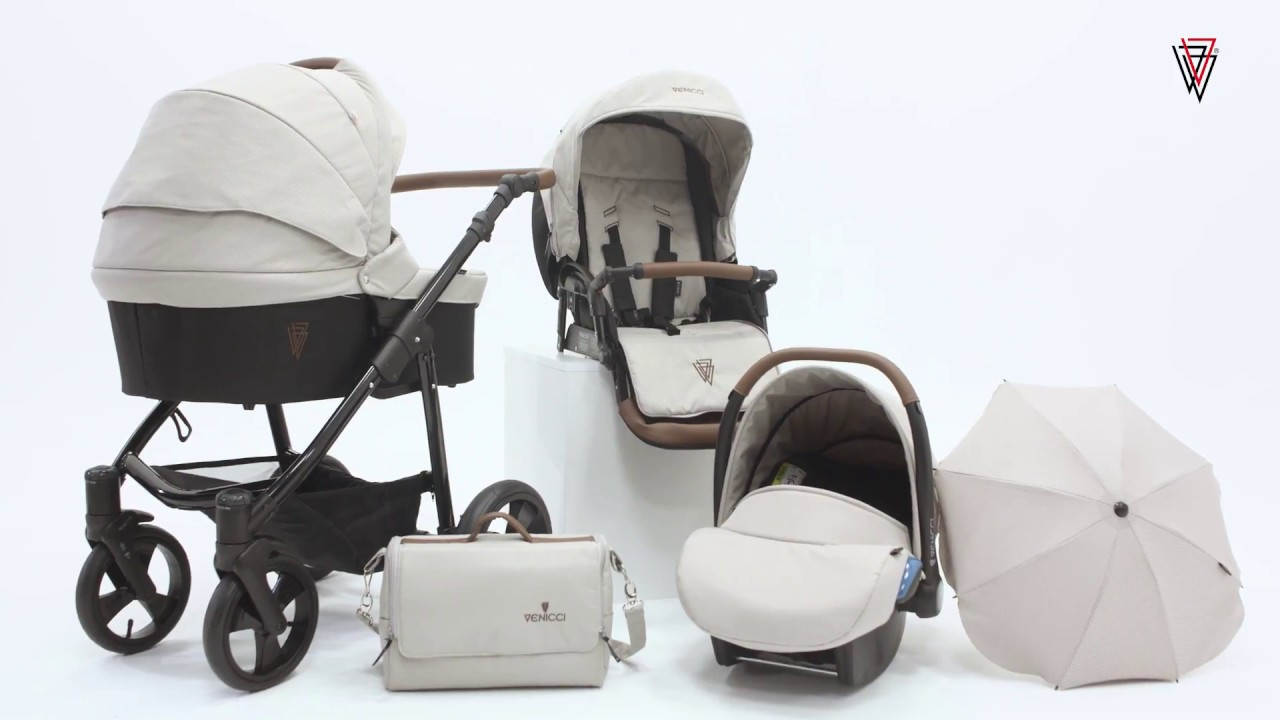Venicci GUSTO Cream 3in1 Travel System