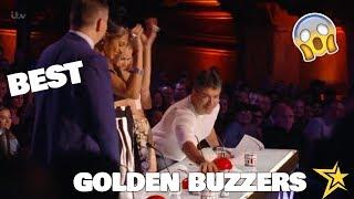BEST SIMON COWELL'S GOLDEN BUZZERS EVER on BRITAIN'S GOT TALENT!