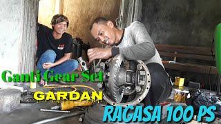 Download Video Bongkar Pasang Gardan Ragasa 100 PS by Mitsubishi MP3 3GP MP4