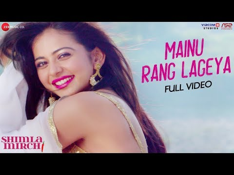 Mainu Rang Lageya Lyrics [ 2020 ] | Shimla mirch | MeetBros | Hindi