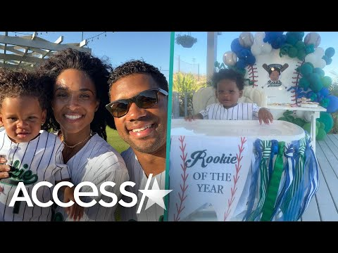 Ciara & Russell Wilson Throw Son Win 1st Bday Party In Mexico