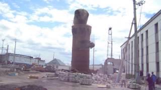Демонтаж кирпичной водонапорной башни Демонтаж снос дымовых труб  Демонтаж зданий, сооружений(, 2017-01-25T12:50:12.000Z)