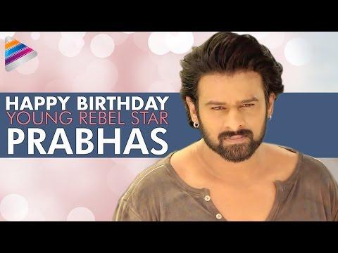 Happy Birthday Prabhas   Celebrating 36 Years Of Young Rebel Star   #HappyBirthdayPrabhas