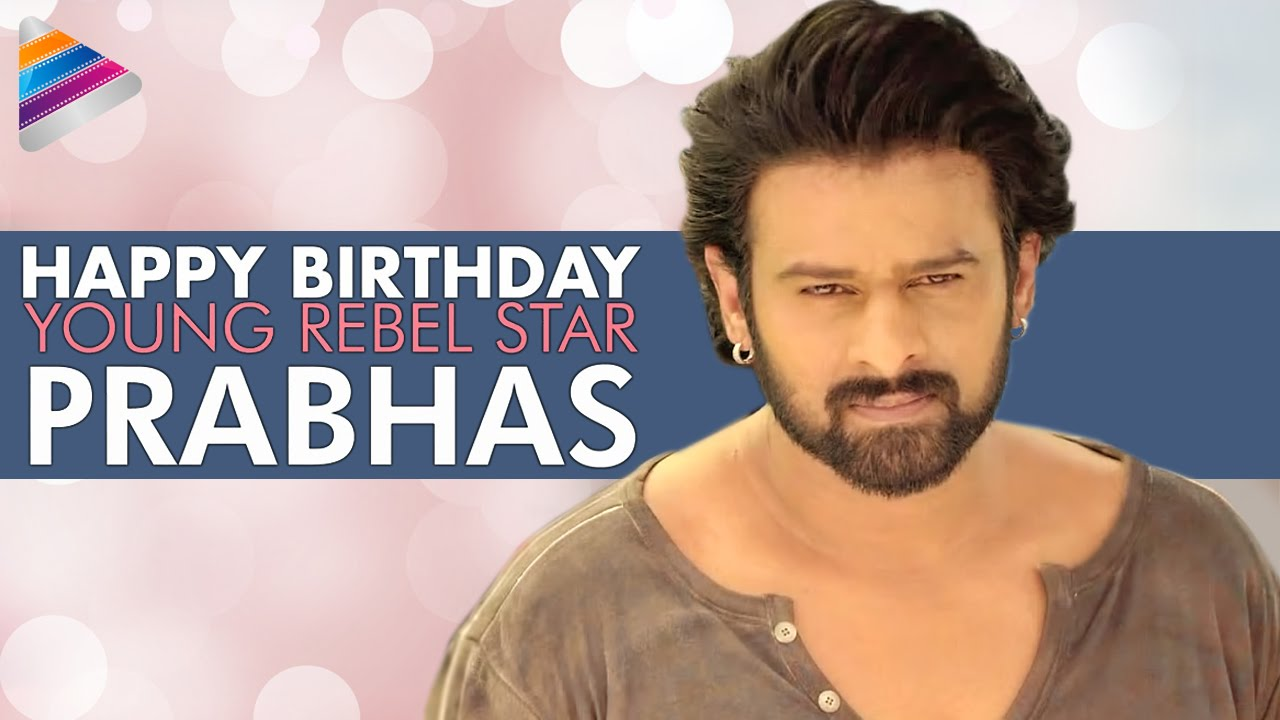 Young Rebel Star Prabhas Raju Wallpapers: Celebrating 36 Years Of Young