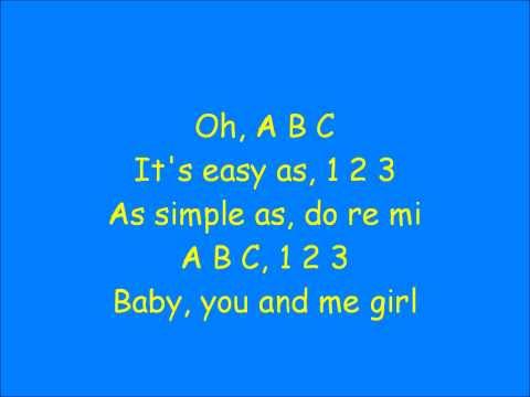 A B C by The Jackson 5 (Lyrics)