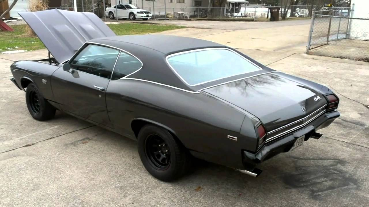 Charcoal Metallic 69 Chevelle Ss Youtube