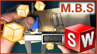 SolidWorks для начинающих. 3D печать и 3D принтер Основы работы. Модель крутилки колков гитары