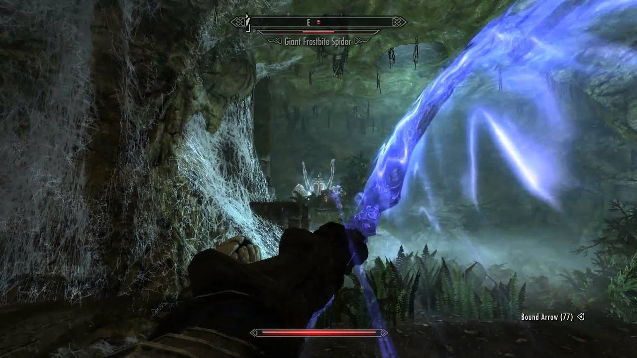 Skyrim learn destruction spells