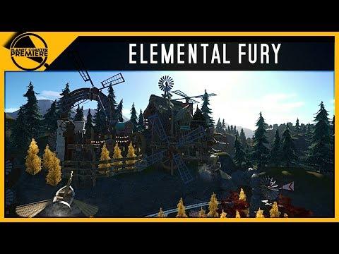Elemental Fury | Planet Coaster Premiere | 4Kᵁᴴᴰ