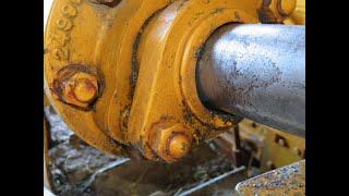 1941 Caterpillar D2 5J Hydraulic Leak Repair