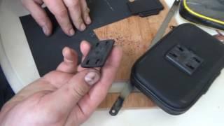 K1200LT Крепление телефона вместо штатного навигатора (Лайфхак)