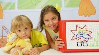 Türkçe izle - kız erkek çocuk oyunları/videoları. Polen ve Dani ile yeni oyunlar ve yeni oyuncaklar