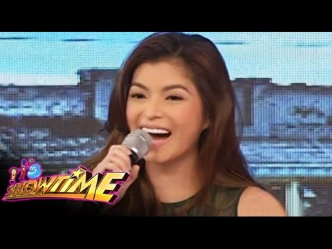 Angel Locsin, nakisaya sa Showtime
