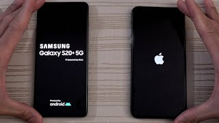 Samsung Galaxy S20 Plus vs iPhone 11 Pro Max SPEED TEST! Which is BEAST?!