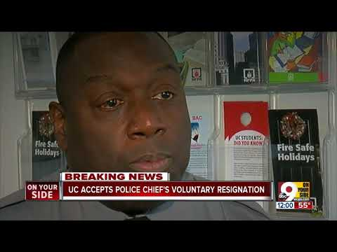 University of Cincinnati Police Chief Anthony Carter resigns, will be in new role