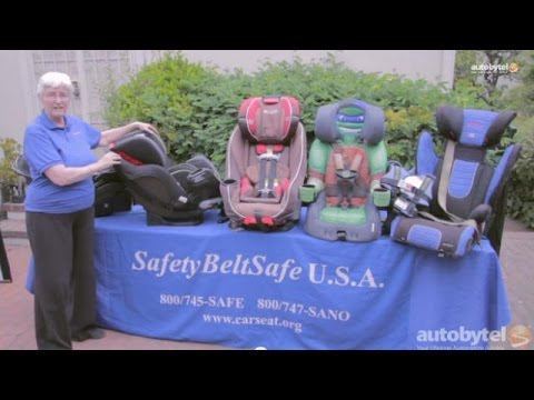Different Types of Car Seats - Rear Facing, Convertible, Combination, and Booster