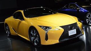レクサス新型クーペ「LC」発売=コンセプトモデル「LF-LC」の市販車