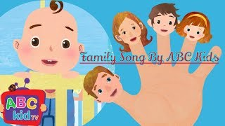 The Finger Familysong _ Finger Family Collection _ Family Members Song , ABC Kids