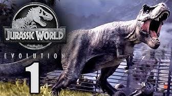 Jurassic World Evolution Deutsch #1 ► Mein Hype Spiel 2018 ◄ | Let's Play Gameplay German