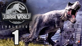 Jurassic World Evolution Deutsch #1 ► Mein Hype Spiel 2018 ◄ | Let's Play Gameplay German