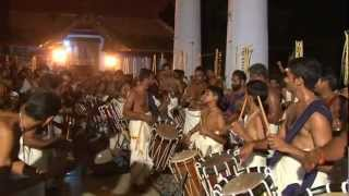 Peruvaram Mahadeva Temple N Paravur Panchari Melam Arangettam Chendamangalam Raghu Marar