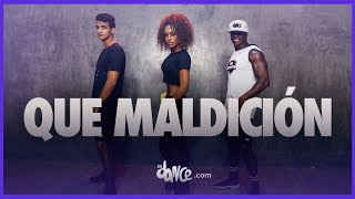 Que Maldición - Banda MS ft. Snoop Dogg | FitDance Life | #StayAtHome and Dance #WithMe