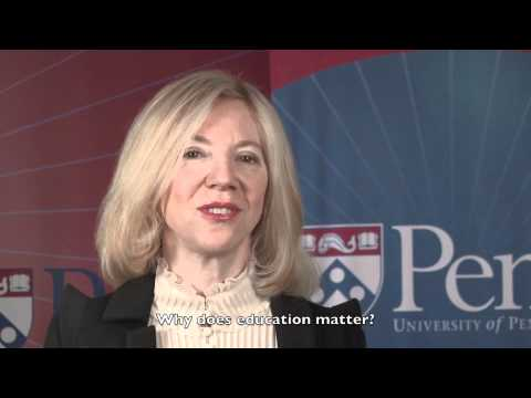 Focus on Education: Dr Amy Gutmann, President of the University of Pennsylvania