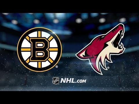 Boston Bruins Vs. Arizona Coyotes | NHL Game Recap | October 14, 2017 | HD