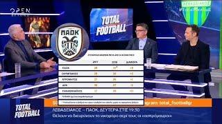 «Αν δεν αλλάξει, θα έχει πρόβλημα»: Συζήτηση για τον ΠΑΟΚ στο Total Football (OPEN, 16-17/12/18)