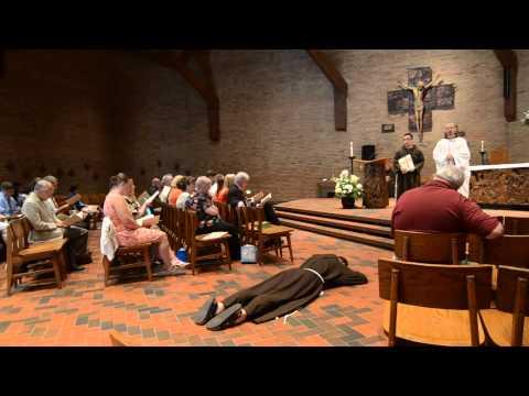David Hirt's Profession of Perpetual Vows at St. Lawrence Seminary
