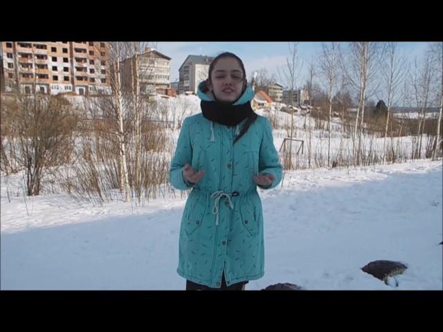 Изображение предпросмотра прочтения – ВероникаМазур читает произведение «Весенние воды (Еще вполях белеет снег…)» Ф.И.Тютчева