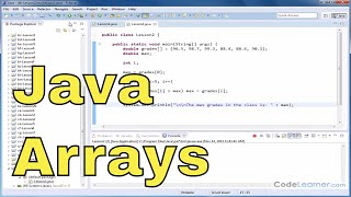 Java Tutorial - 02 - Using a Loop to Access an Array