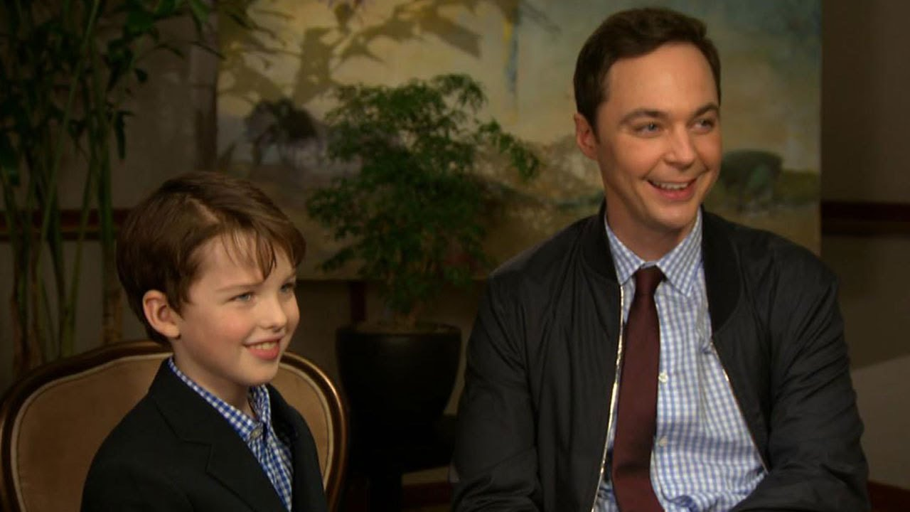 Jim Parsons Gushes About Adorable 'Young Sheldon' Star Iain ...