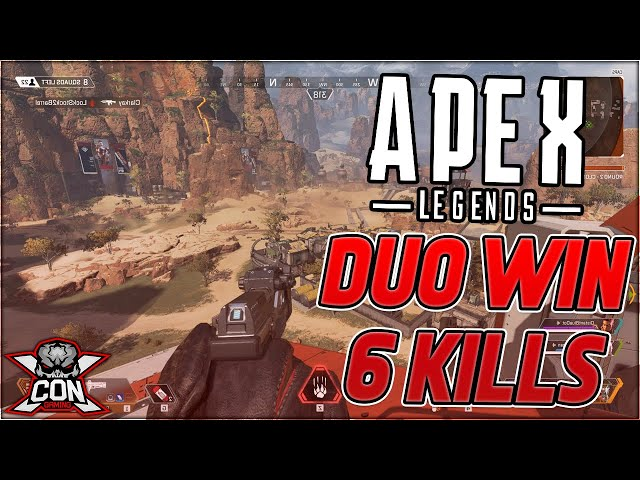 Apex Legends Duo Win 6 Kills From WestSideReLLy