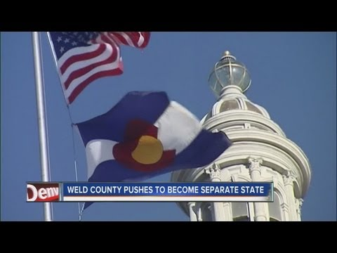Weld County pushing to become separate state from Colorado
